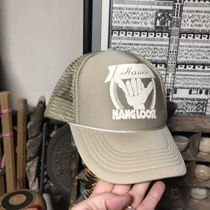 "Vintage snap back hat "" Hang Loose Hawaii "" cap 4ea8eb338774"